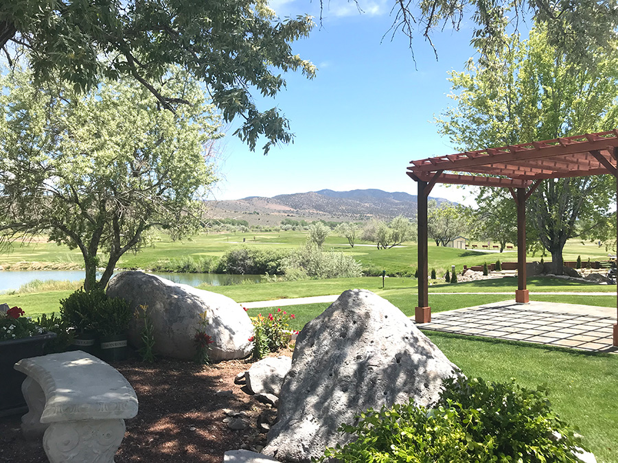 Carson City weddings at Empire Ranch Golf Club